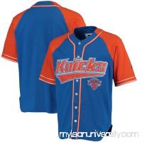 Men's New York Knicks Starter Royal/Orange Baseball Jersey -   2655412