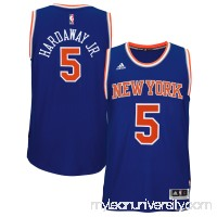 Men's New York Knicks Tim Hardaway Jr. adidas Blue Player Swingman Road Jersey -   1817181
