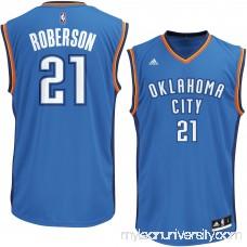 Men's Oklahoma City Thunder Andre Roberson adidas Royal Replica Jersey -   2267536