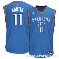 Men's Oklahoma City Thunder Enes Kanter adidas Royal Team Color Replica Jersey - 2666183