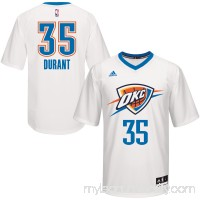 Men's Oklahoma City Thunder Kevin Durant White adidas Pride Replica Jersey -   2480433