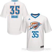 Men's Oklahoma City Thunder Kevin Durant White adidas Pride Replica Jersey -   2480433