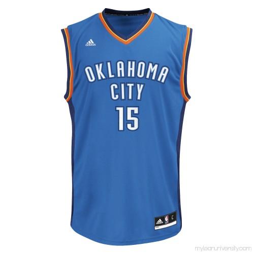 2aa1b380deb Men s Oklahoma City Thunder Kyle Singler adidas Blue Replica Jersey -  2626192