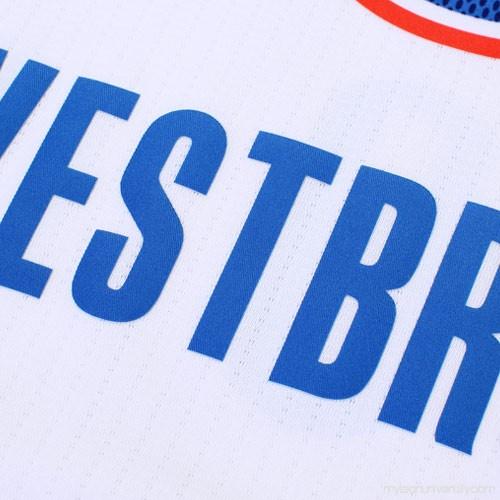 27ad3555ff3d Men s Oklahoma City Thunder Russell Westbrook adidas 2014-15 Pride Swingman  Jersey - White - 2032745