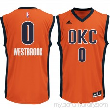 Men's Oklahoma City Thunder Russell Westbrook adidas Sunrise Replica Basketball Jersey -   2275591