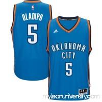 Men's Oklahoma City Thunder Victor Oladipo adidas Blue Road Swingman climacool Jersey - 2600091