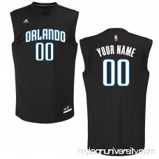 Men's Orlando Magic adidas Black Custom Chase Jersey - 2652046