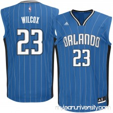 Men's Orlando Magic C.J. Wilcox adidas Royal Road Replica Jersey - 2622783