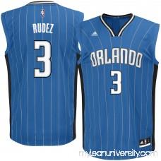 Men's Orlando Magic Damjan Rudez adidas Royal Road Replica Jersey - 2622782
