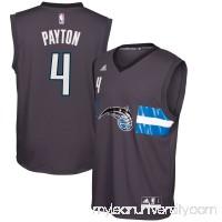 Men's Orlando Magic Elfrid Payton adidas Black Alternate Replica Jersey -   2446570