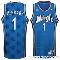 Men's Orlando Magic Tracy McGrady adidas Blue Hardwood Classic Swingman Jersey -   2148682