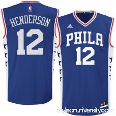 Men's Philadelphia 76ers Gerald Henderson adidas Royal Replica Road Jersey - 2613046