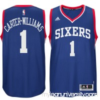 Men's Philadelphia 76ers Michael Carter-Williams adidas Royal Player Swingman Alternate Jersey -   1768754