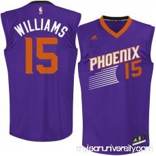 Men's Phoenix Suns Alan Williams adidas Purple Road Replica Jersey - 2622790