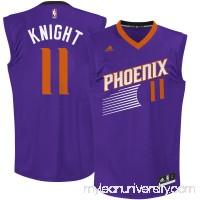 Men's Phoenix Suns Brandon Knight adidas Purple Team Color Replica Jersey -   2666186