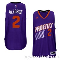 Men's Phoenix Suns Eric Bledsoe adidas Purple Player Swingman Road Jersey -   1817196