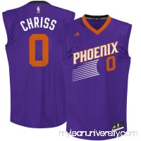 Men's Phoenix Suns Marquese Chriss adidas Purple Team Color Replica Jersey - 2666187