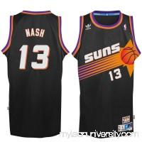 Men's Phoenix Suns Steve Nash adidas Black Hardwood Classic Swingman Jersey -   2148686