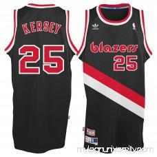 Men's Portland Trail Blazers Jerome Kersey adidas Black Hardwood Classic Swingman Jersey - 2148677