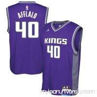 Men's Sacramento Kings Arron Afflalo adidas Purple Replica Road Jersey -   2617244