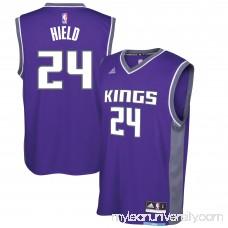 Men's Sacramento Kings Buddy Hield adidas Purple Road Replica Jersey -   2733949
