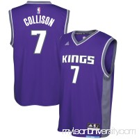 Men's Sacramento Kings Darren Collison adidas Purple Road Replica Jersey - 2621022