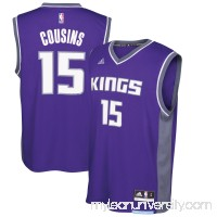 Men's Sacramento Kings DeMarcus Cousins adidas Purple Road Replica Jersey - -   2587696