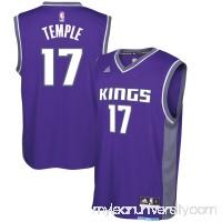 Men's Sacramento Kings Garrett Temple adidas Purple Road Replica Jersey -   2621026