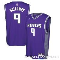 Men's Sacramento Kings Langston Galloway adidas Purple Road Replica Jersey -   2733951