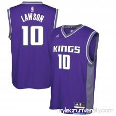 Men's Sacramento Kings Ty Lawson adidas Purple Replica Road Jersey - 2617245