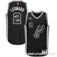 Men's San Antonio Spurs Kawhi Leonard adidas Black Alternate Swingman Jersey -   2633142