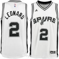 Men's San Antonio Spurs Kawhi Leonard adidas White Home Swingman Jersey -   2111894
