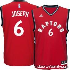 Men's Toronto Raptors Cory Joseph adidas Red Replica Jersey - 2289061