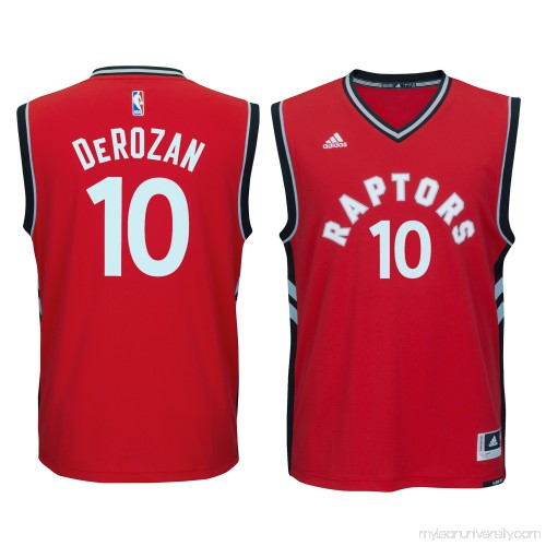 hot sale online f8f1e 7dee1 Men s Toronto Raptors DeMar DeRozan adidas Red climacool Replica Jersey -  2162913