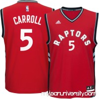 Men's Toronto Raptors DeMarre Carroll adidas Red Replica Jersey -   2289059