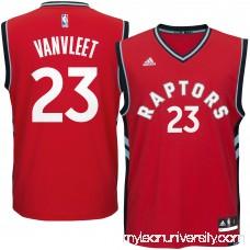 Men's Toronto Raptors Fred VanVleet adidas Red Road Replica Jersey - 2624507