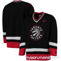 Men's Toronto Raptors G-III Sports by Carl Banks Red/Black Hockey Jersey -   2655563