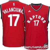 Men's Toronto Raptors Jonas Valanciunas adidas Red Replica Jersey - 2289067