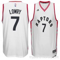 Men's Toronto Raptors Kyle Lowry adidas White Home Swingman climacool Jersey - 2188921
