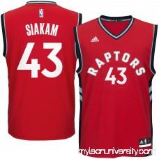 Men's Toronto Raptors Pascal Siakam adidas Red Road Replica Jersey - 2624506