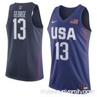 Men's USA Basketball Paul George Nike Royal Rio Elite Replica Jersey -   2559943