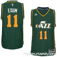 Men's Utah Jazz Dante Exum adidas Green Player Swingman Alternate Jersey -   1959417