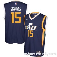 Men's Utah Jazz Derrick Favors adidas Navy Replica Road Jersey -   2627957