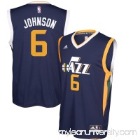 Men's Utah Jazz Joe Johnson adidas Navy Replica Road Jersey -   2627960
