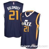 Men's Utah Jazz Joel Bolomboy adidas Navy Replica Road Jersey -   2627961