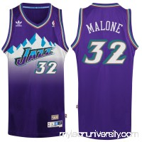 Men's Utah Jazz Karl Malone adidas Purple Hardwood Classic Swingman Jersey -   2148679