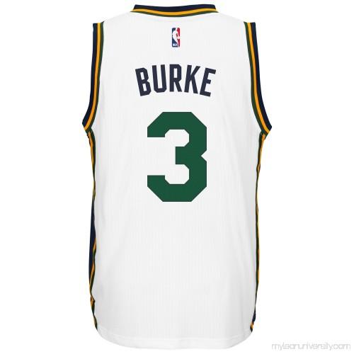Men s Utah Jazz Trey Burke adidas White Player Swingman Home Jersey -  1768785 91277b9c1