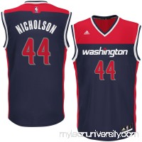 Men's Washington Wizards Andrew Nicholson adidas Blue Alternate Replica Jersey -   2626221