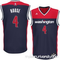 Men's Washington Wizards Danuel House adidas Blue Alternate Replica Jersey -   2626225