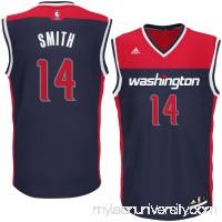 Men's Washington Wizards Jason Smith adidas Blue Alternate Replica Jersey -   2626223